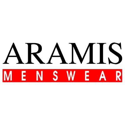 Logo da Aramis Menswear, Empresa que a Target Assessoria Financeiramente