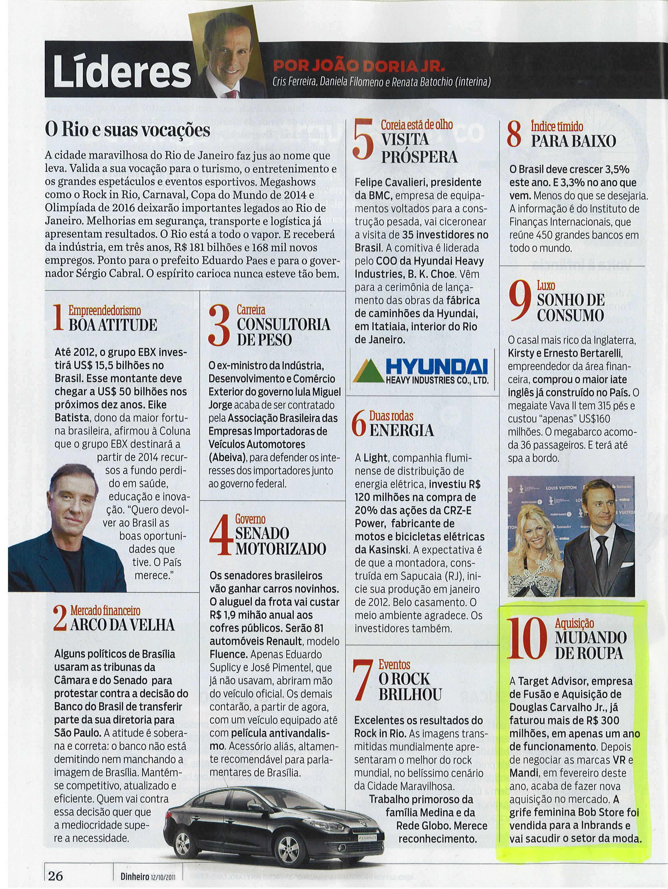 Líderes Top 10